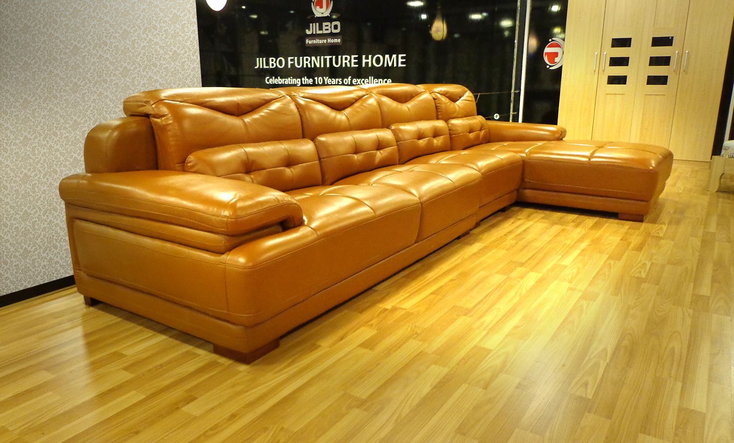 product pc orange sofa leather couch and chair beige set loveseat